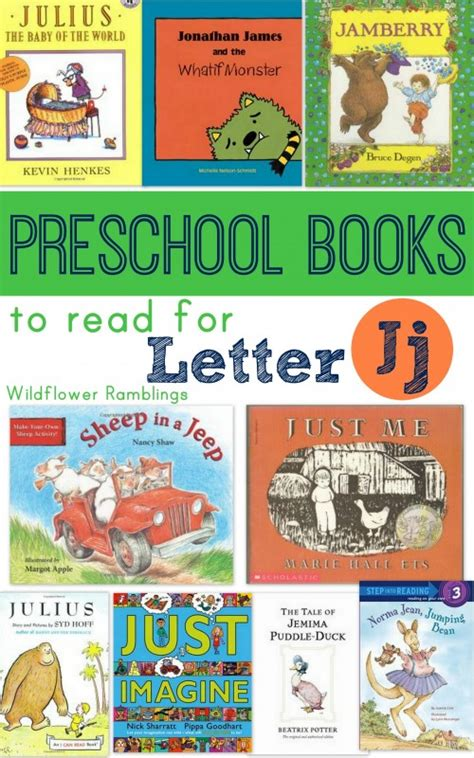 preschool books for letter j wildflower ramblings 187 | booksforletterj 001 500x800