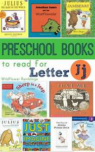preschool books for letter j wildflower ramblings With letter books for preschool