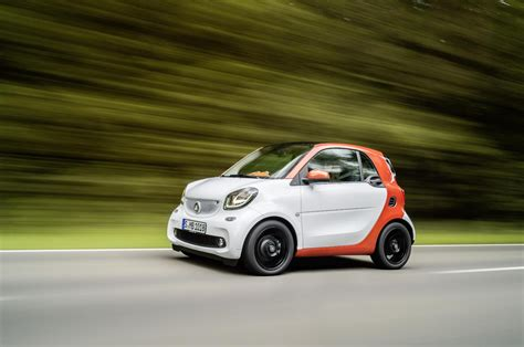 Smart : 2015 Smart Fortwo & Forfour Specifications Officially