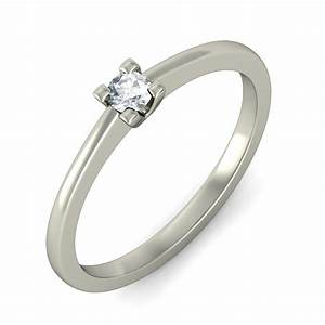 Enthralling cheap solitaire wedding ring 020 carat round for Cheapest wedding ring