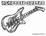 Guitar Coloring Pages Electric Rock Hard Boys Clipart Printable Outline Colouring Drawing Line Instrument Guitars Musical Clipartpanda Panda Getdrawings Yescoloring sketch template