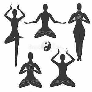 Meditation Poses Royalty Free Stock Image - Image: 15801806