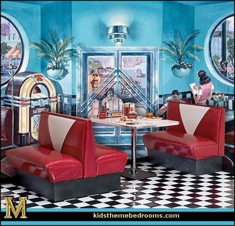 retro style decorating ideas images of retro diners 50s diner furniture corner cafe wall mural 50s diner furniture jpg