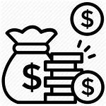 Cost Icon Saving Savings Earnings Vectorified Money