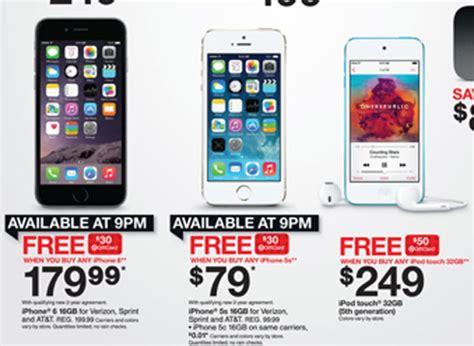 best iphone 6 deal top 5 best black friday 2014 iphone 6 deals heavy