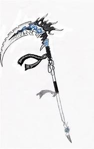 Ice scythe color presentation by Sard1Lorlade on DeviantArt