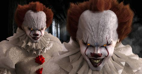Background Digital Pennywise Clown Pennywise Wallpaper by Pin By Kathy Kerr On Horror Villains Bill Skarsgard 4k