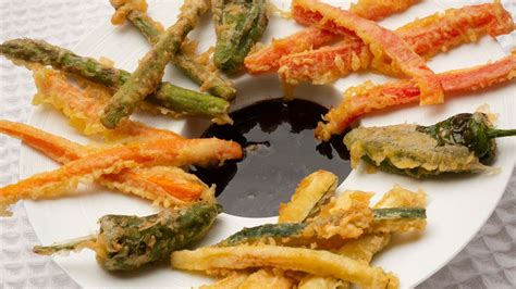 Receta de Verduras rebozadas con salsa agridulce - Karlos ...