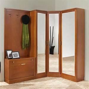 Garderobe 60 Cm Breit : garderobenschr nke dielenm bel bestellen kirsche nussbaum ~ Watch28wear.com Haus und Dekorationen