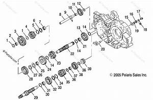 01 500 Sportsman Transmission Parts Diagram