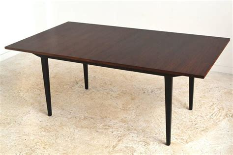 george nelson rosewood dining table and chair set at 1stdibs