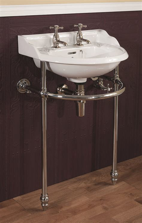 silverdale victorian cloakroom basin stand heated towel
