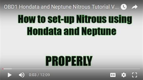 obd1 honda ecu nitrous setup guide for hondata s300 and neptune xenocron tuning solutions