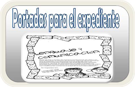 portadas para el expediente de evidencias educaci 243 n primaria