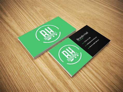business card mockup ai psd word design trends