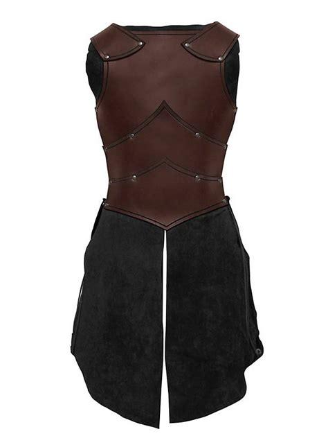 lady leather armor brown maskworldcom