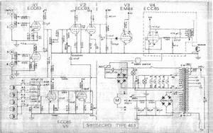 Swissecho 463 Echo Unit Schematic