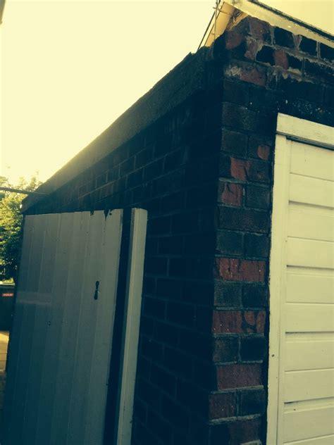 garage knockdown demolition job  wirral merseyside