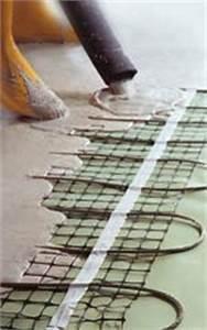 Elektrische Fußbodenheizung Als Vollheizung : einfache verarbeitung von elektrischer fu bodenheizung in fliesestrich ~ Markanthonyermac.com Haus und Dekorationen