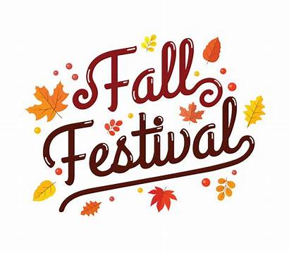 Festival Fall Clip Vector Typography Posterl Clipart