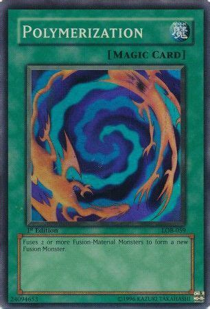 polymerization lob  super rare legend  blue