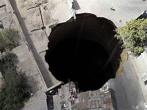 What Causes A Sinkhole - Business Insider