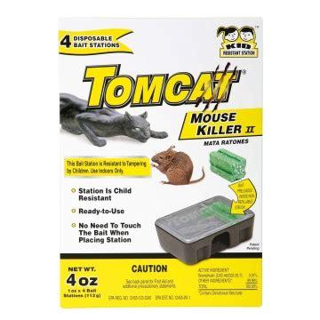 Motomco Tomcat Allweather Rodent Blocks  4 X 1 Lb Blocks
