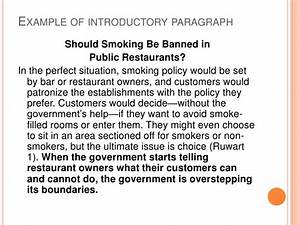 Essays On The Yellow Wallpaper Smoking Should Be Banned In Public Places Essay Ocd Research Paper  Conclusion Synthesis Essay Ideas also Argumentative Essay Thesis Examples Smoking Should Be Banned In Public Places Essay Cheap Dissertation  Synthesis Essay Prompt