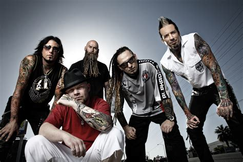 Watch Five Finger Death Punch Members Throw Temper