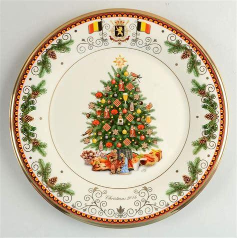 lenox christmas trees around the world spain plate 2008 ebay