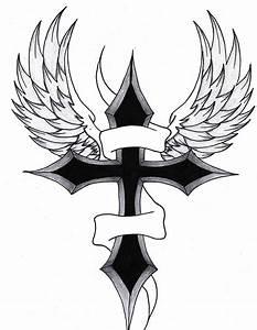 Cross Designs With Banner And Wingsnokiaaplicaciones.com ...