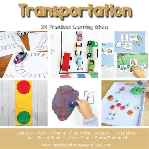 a year of preschool lesson plans bundle where 312 | Preschool Lesson Plans Transportation