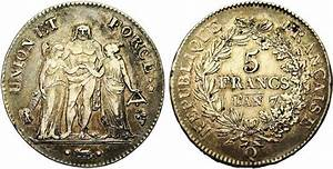 France L'AN 7-Q 5 francs - CoinFactsWiki