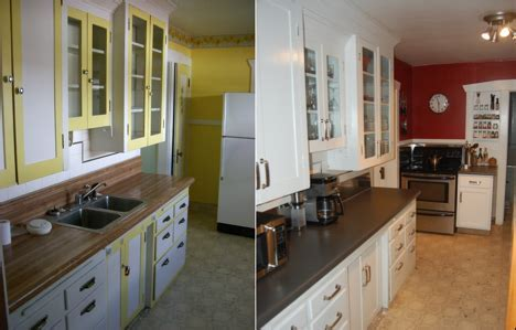 Affordable Modern Kitchen Entry: Bungalow on a budget
