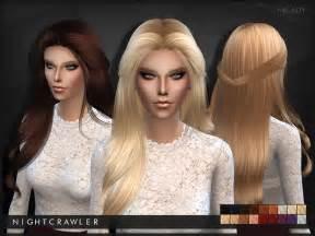 CC Hair Nightcrawler Sims 4