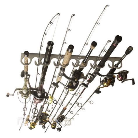 ceiling mount fishing rod racks piranha fishing rod rack ceiling overhead mount