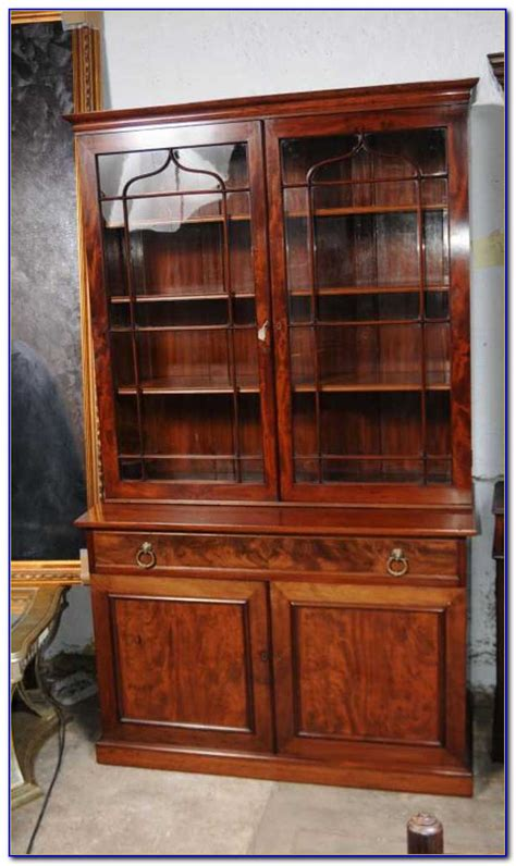 Glass Fronted Bookcases Uk by Lockable Glass Fronted Bookcases Bookcase Home Design