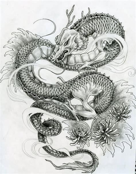 japanese dragon tattoos designs