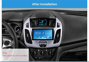 Car Radio Fascia Panel For Ford Transit Connect  Tourneo
