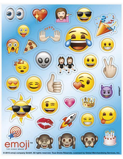 Set Van 4 Stickervellen Met 136 Emoji™ Stickers