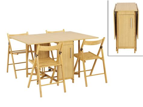 vente table cuisine ensemble modulable table 4 chaises emeline hêtre massif