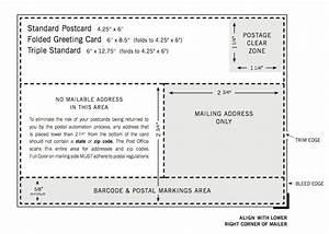 usps postcard guidelines template postcard template usps With usps postcard guidelines template