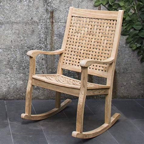 teak glider chair teak rocking chair contemporary