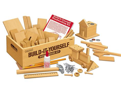 build   woodworking kit  lakeshore learning