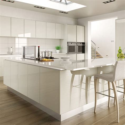 high gloss kitchen island gloss kitchen ideas 10 ideas ideal home 4218