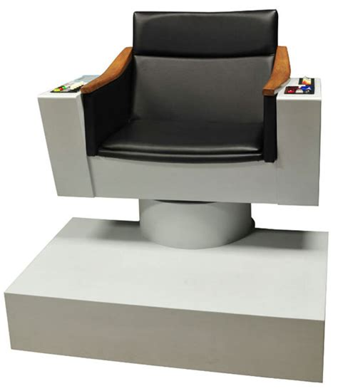 trek captains chair size captain kirk s chair for the ultimate trekkie decorator
