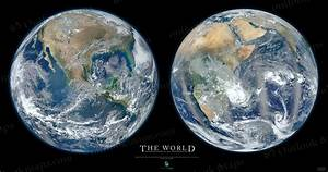 Big Blue Marble NASA Poster - Pics about space