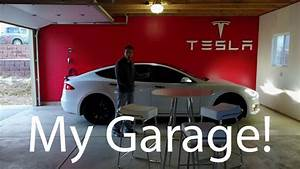 Turning My Garage Into A Tesla Gallery
