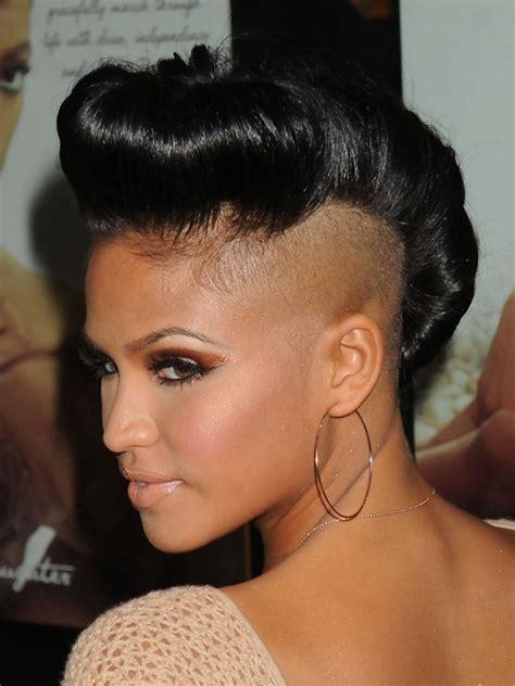 badass mohawk hairstyles  black women