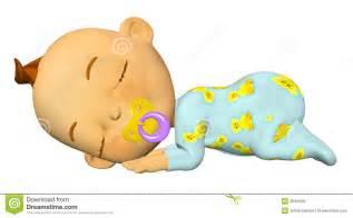 Sleeping Baby Cartoon